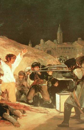 Steve McQueen se inspiró en Francisco de Goya para la película. Durante la promoción de la película explicó que como referencia visual tenía los cuadros del pintor aragonés: