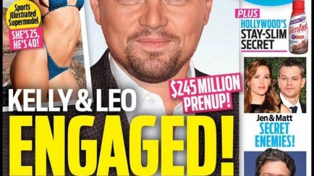 Leonardo DiCaprio se compromete