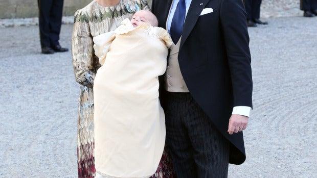 Bautizo del príncipe Nicolás de Suecia