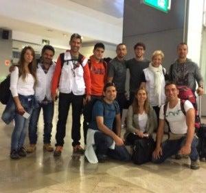 Paco Roncero, Susi Díaz y Jalis de la Serna viajan a Ghana