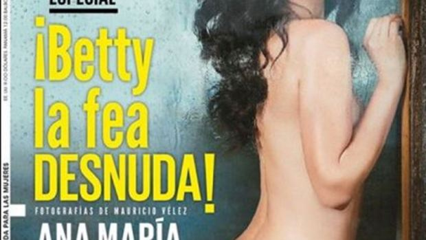 Betty la Fea, Ana María Orozco, se desnuda