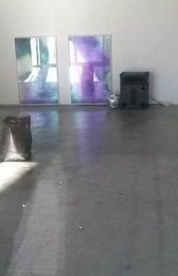 Así quedó de limpio el lugar de la exposición