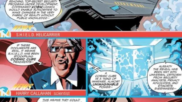Imagen del cómic en el que aparece Francisco Marhuenda