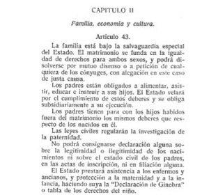 Constitución de la II República