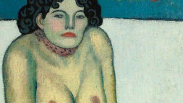 'La Gommeuse', de Picasso