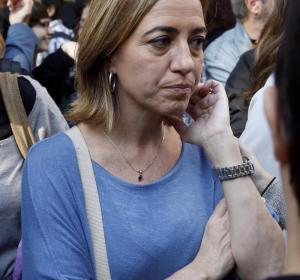 Chacón ha acudido a la marcha de Madrid