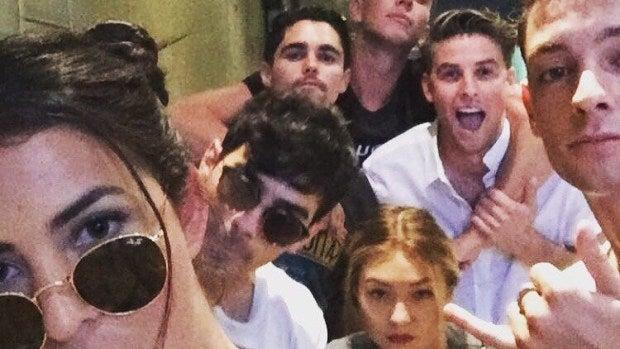 Samuel es muy amigo de Gigi Hadid