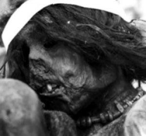 Detalle de la momia