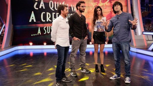 Clara Lago y Dani Rovira en 'El Hormiguero 3.0'