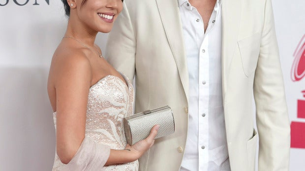 Melendi y su chica en los Grammy Latinos