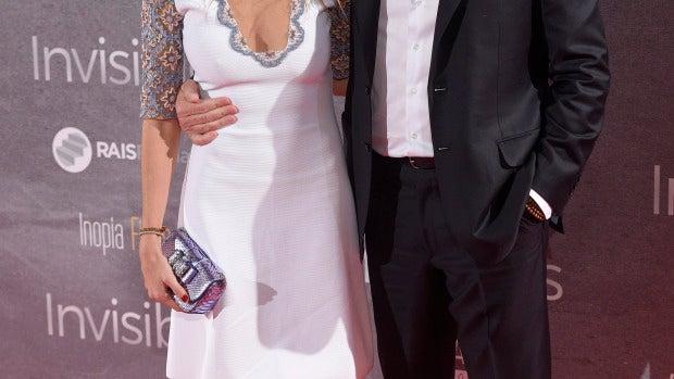 Richard Gere y Alejandra Silva posan por primera vez como pareja