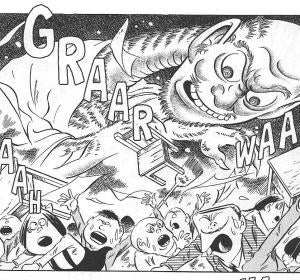 Obra del dibujante nipón Shigeru Mizuki
