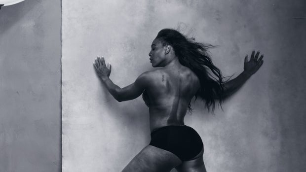 Serena Williams en el Calendario Pirelli 2016