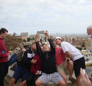 Selfies en el Parque Güell