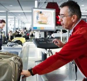 Control en el aeropuerto de Viena