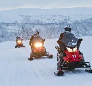 Motos de nieve en Funäsfjällen