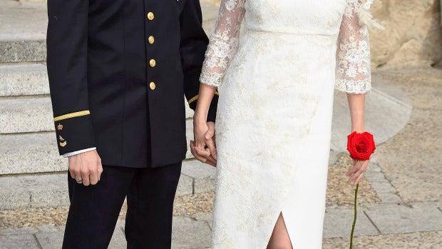 La actriz Beatriz Rico se ha casado con su novio Rubén Ramírez, policía nacional
