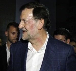 Agreden a Rajoy