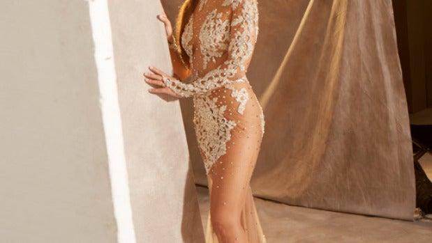 Cristina Pedroche posa con su vestido