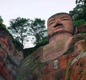 Gran Buda de Leshan, China
