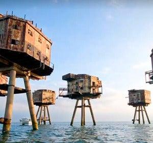 Fortalezas marinas de Maunsell, Reino Unido