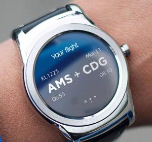 Aplicación para 'smartwatch' de KLM