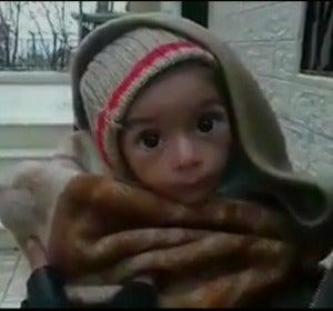Madaya, sitiada por el ejército sirio y condenada a una muerte lenta