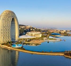 El hotel más vanguardista de Huzhou