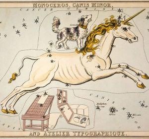 Constelaciones de Can Menor y Monoceros