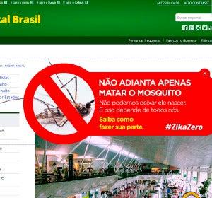 Campaña contra el zika del gobierno brasileño