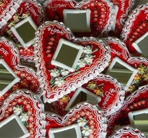 Corazones Licitar, regalo típico de los croatas en San Valentín