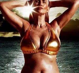 Nicola Griffin, modelo de 56 años