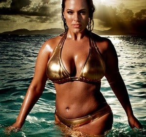 La modelo Ashley Graham
