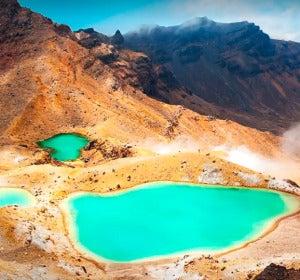 Emerald Lakes, Nueva Zelanda