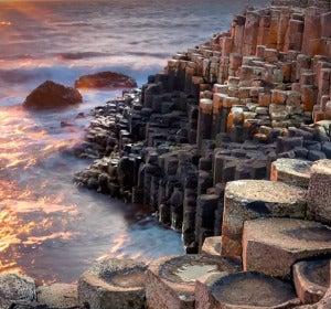 Calzada de los gigantes, Irlanda