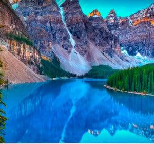 Valle de los 10 picos, Canadá