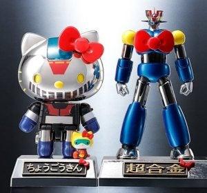 Nuevos modelos de Hello Kitty y Mazinger Z