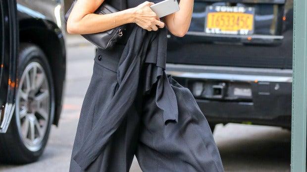 Victoria Beckham pasea por Nueva York