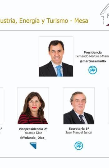 Comisión de Industria, Energía y Turismo
