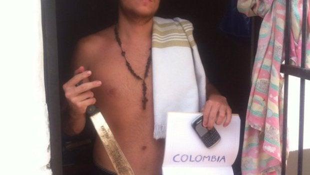Un preso en Colombia