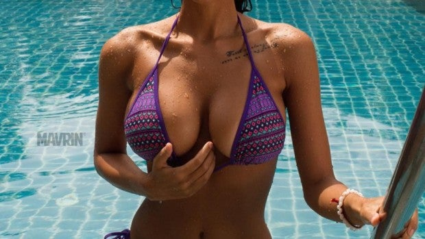Viki Odintcova posa así de sexy