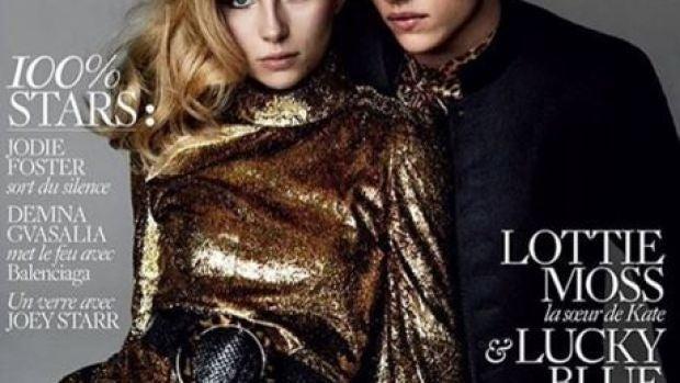 Lottie Moss para Vogue París