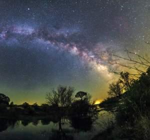 Cielo estrellado en el Alentejo