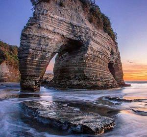Roca Elefante de Tongaporutu