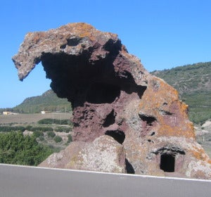 Roca del Elefante de Castelsardo (Italia)