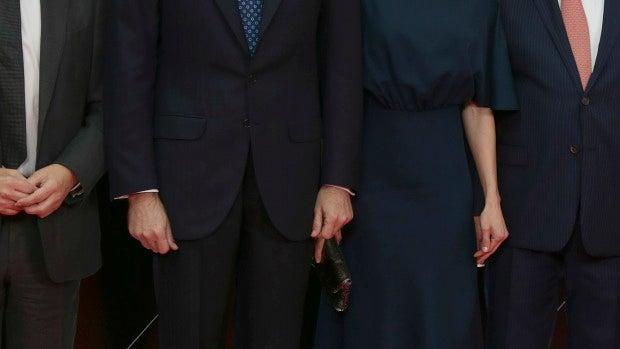 El Rey Felipe VI y la Reina Letizia muy conjuntados