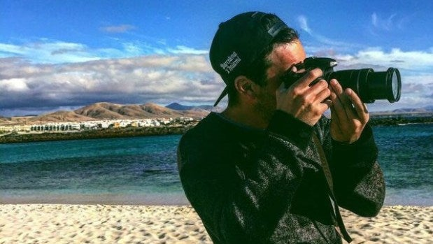 Mario Casas hace de fotógrafo