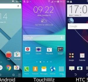 HomeScreen de Android