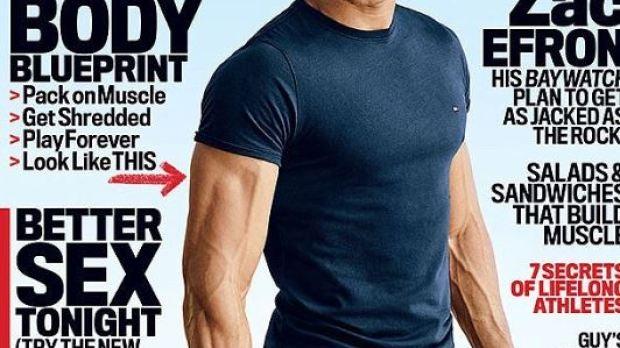 Zac Efron para Men's Fitness