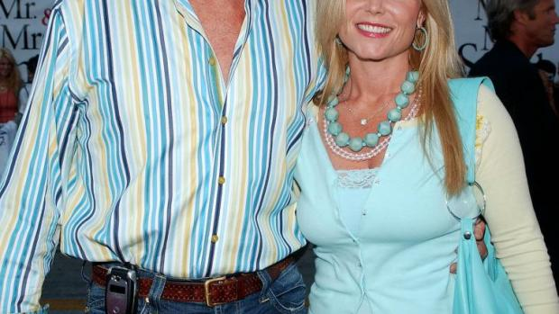 David Hasselhoff y su ex mujer, Pamela Bach